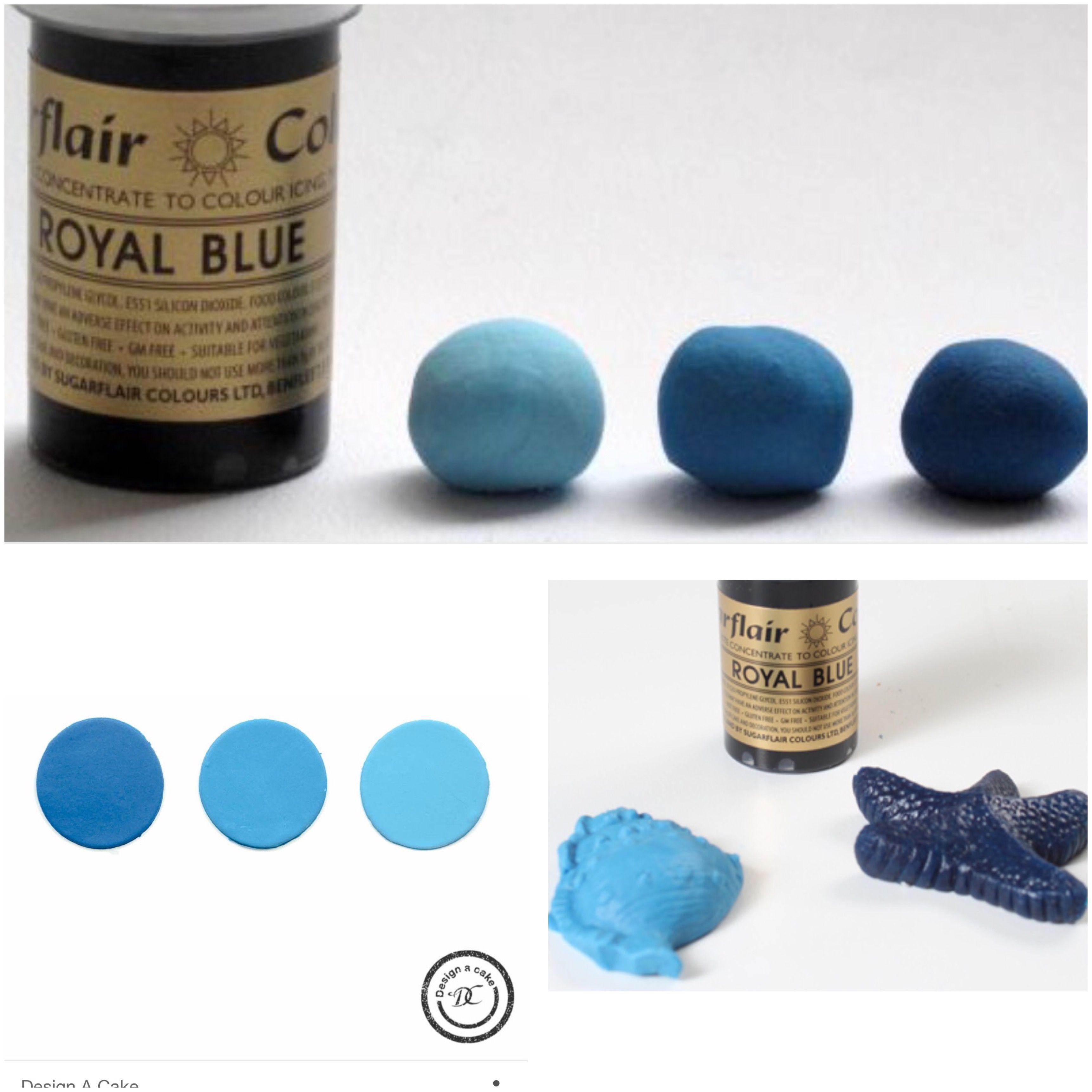Sugarflair royal blue | sugarflair pack amazon.uk | Royal ...