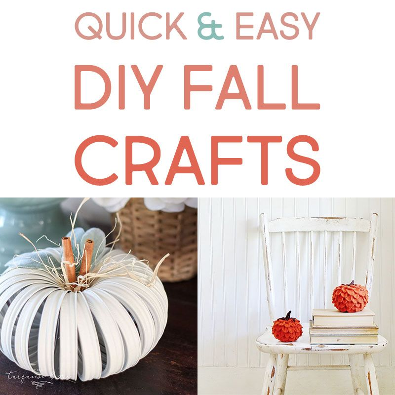 Quick and Easy DIY Fall Crafts – The Cottage Market