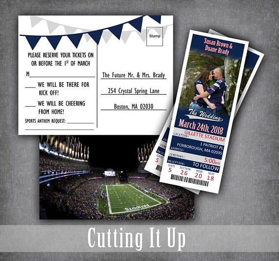 Football Ticket Invitations b0477e26d