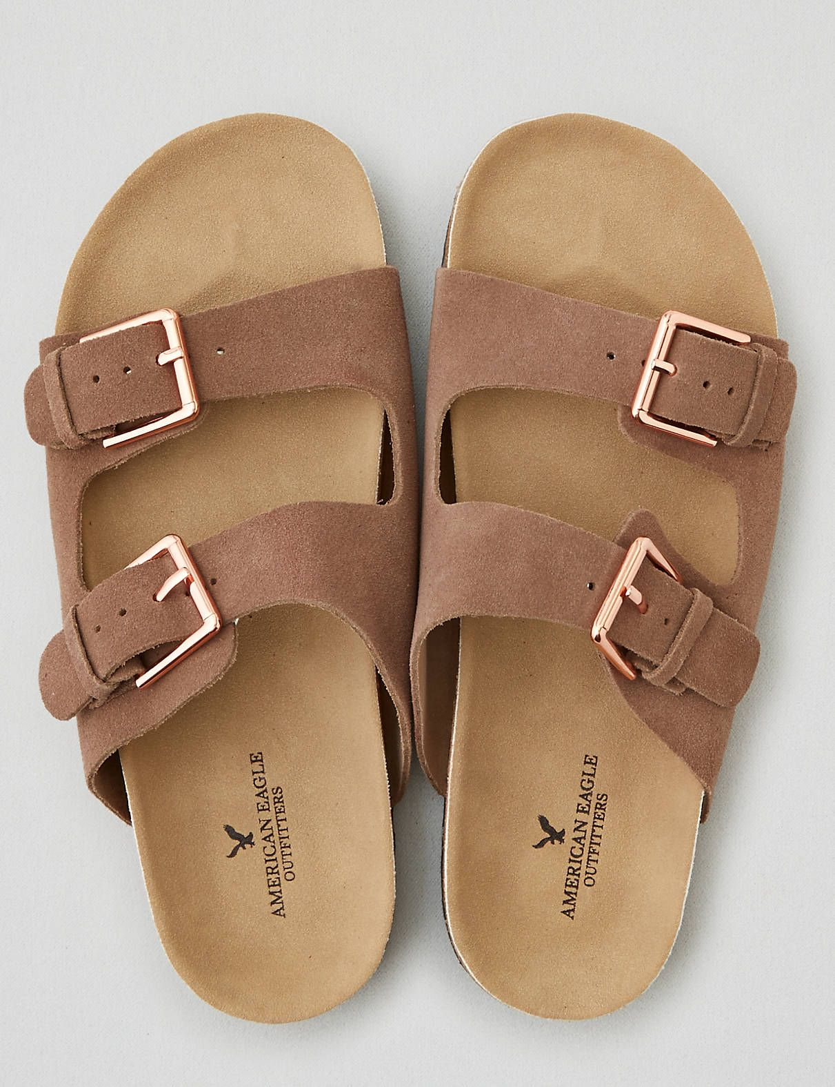 c7a471dc159 AEO Double Buckle Sandal in 2019
