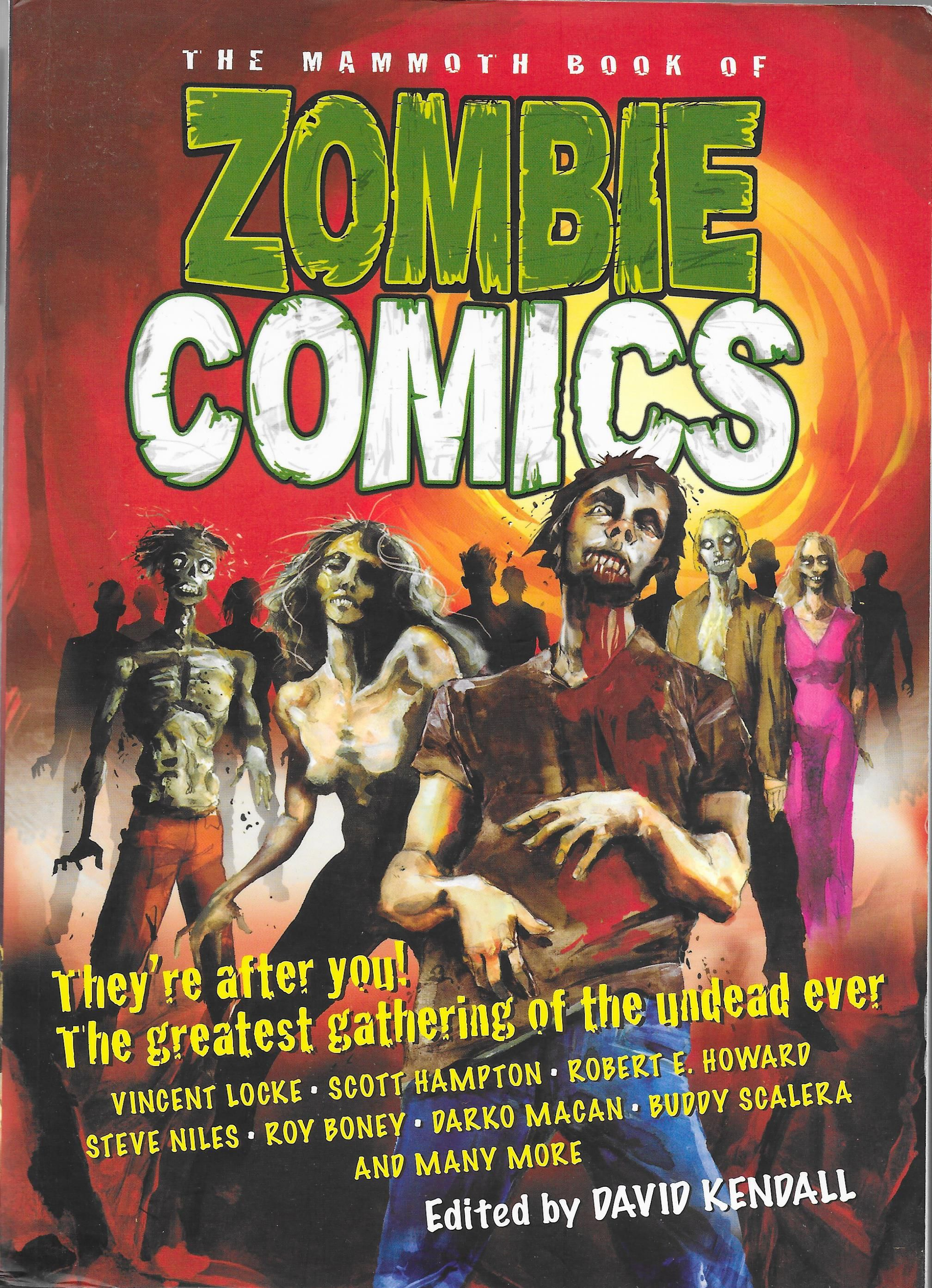 'The Mammoth Book of Zombie Comics' Edited by David