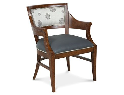 Fairfield Occasional Chair 8322 01 Dry单人椅及搭配小场景