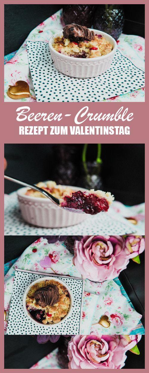 REZEPT // Beeren-Crumble Rezept mit Greengate