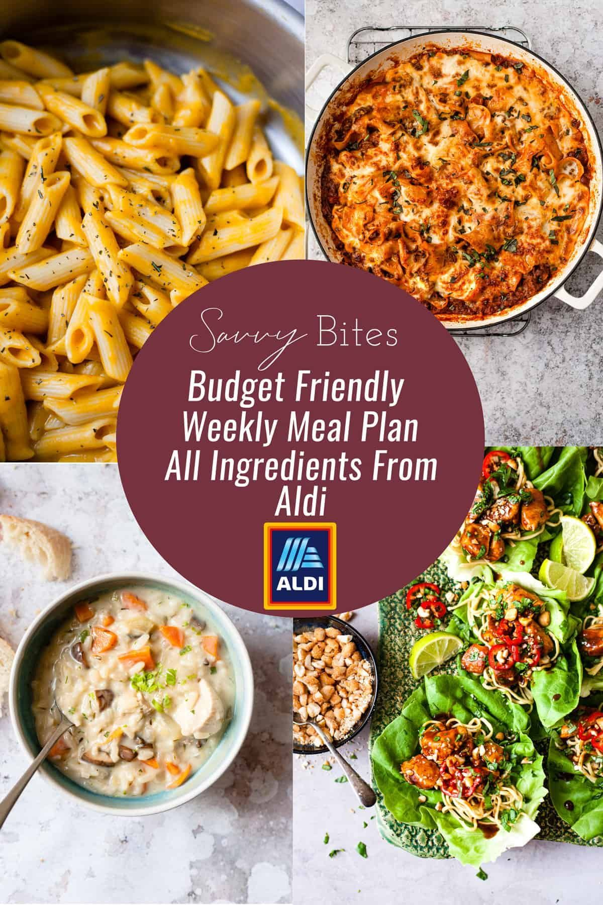 E Healthy Budget Weekly Menu For Families Using Only