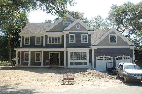 New Exterior Pictures Needham Ma Green Home Project