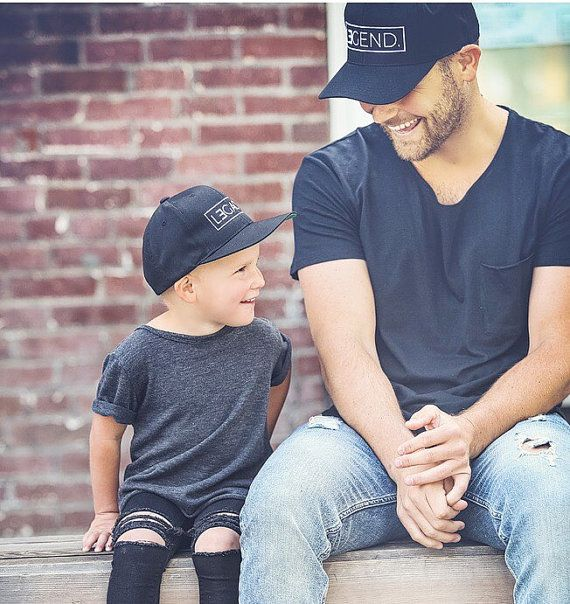 b4e15fb52979e Father and Son Hats Legend and Legacy Hats by tolittlearrows