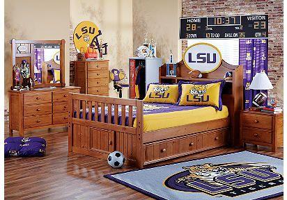 little boy's lsu room   dream home   pinterest   room, bedrooms