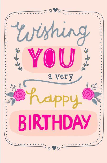 Funny Birthday Wishes For Best Friend Female Images ~ Kirsti davidson female birthday border