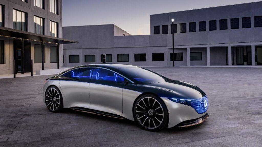 مرسيدس بنز تكشف عن سيدان كهربائية جديدة في معرض فرانكفورت Mercedes Benz Benz Mercedes