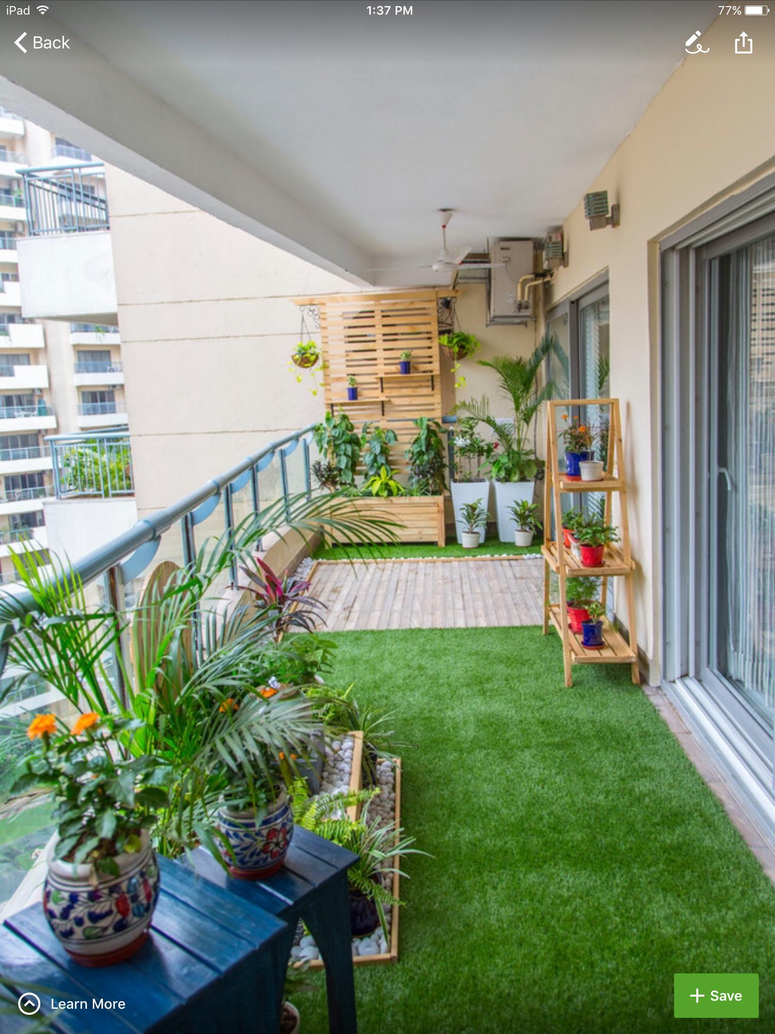 Pin by juhi chandra on Terrace garden ideas in 2019 | Apartment ...