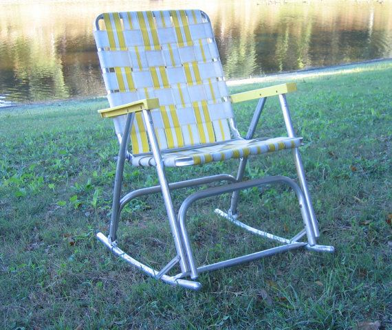 Awe Inspiring Aluminum Folding Lawn Chair Rocking Chair By Gmtry Best Dining Table And Chair Ideas Images Gmtryco
