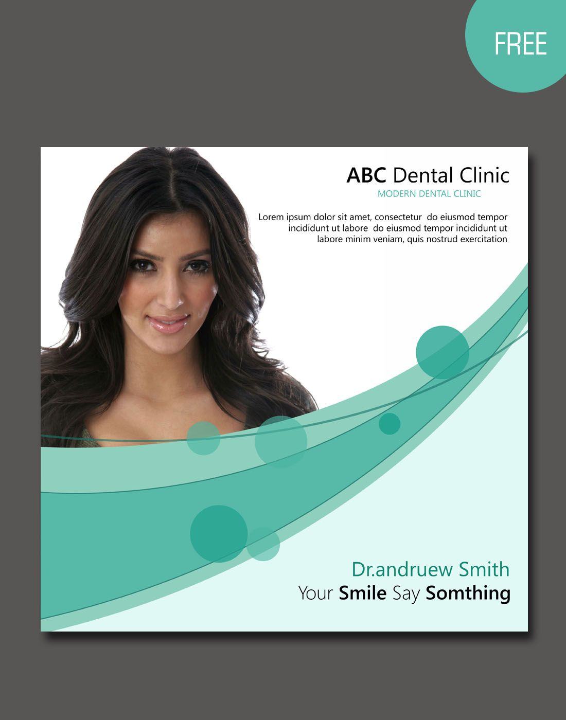 Free Dental Brochure Template Free Brochure Templates Pinterest