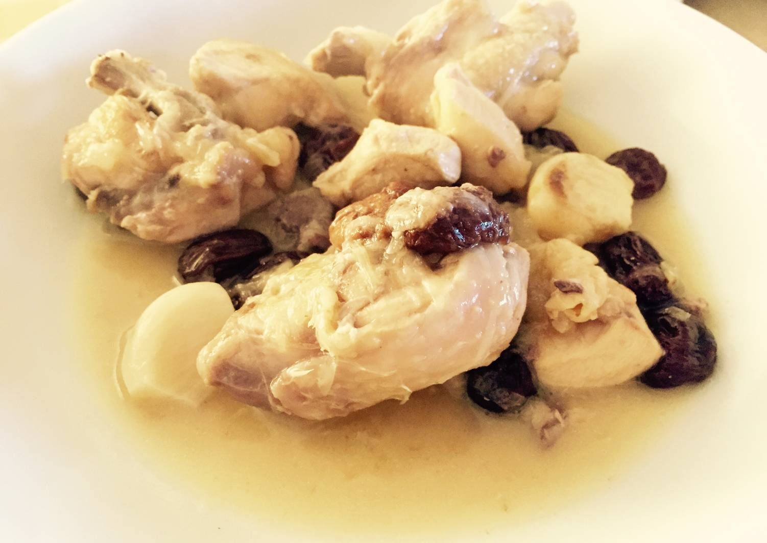 Pollo Con Vino Blanco Y Cebolla Receta De Marieta Receta Pollo Con Vino Blanco Pollo Recetas