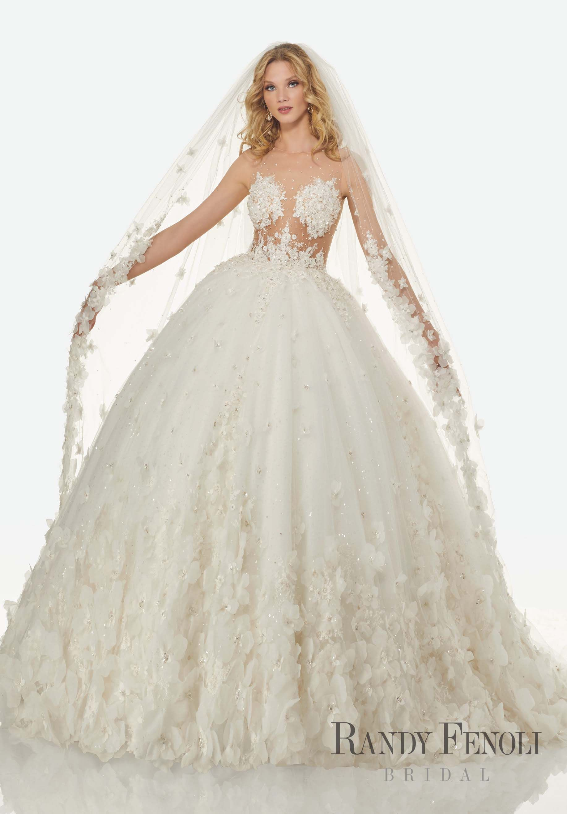 Randy Fenoli Bridal, Brandi Wedding Dress  Style 9. Diamante