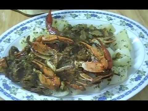 Trinidad curry crab recipe pinterest for Trinidad fish broth