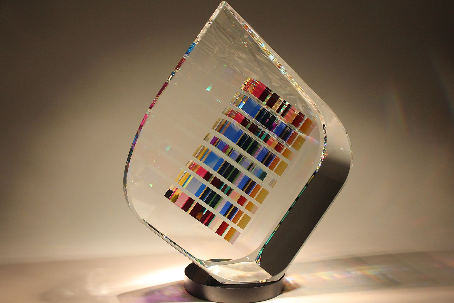 Tierdrop Contemporary Glass Sculpture Fine Art