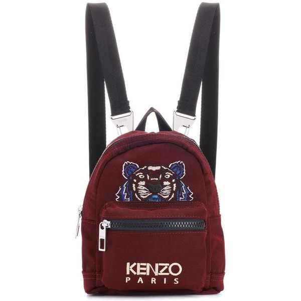 Kenzo Mini Tiger Backpack ( 180) ❤ liked on Polyvore featuring bags ... 20619084c82c4