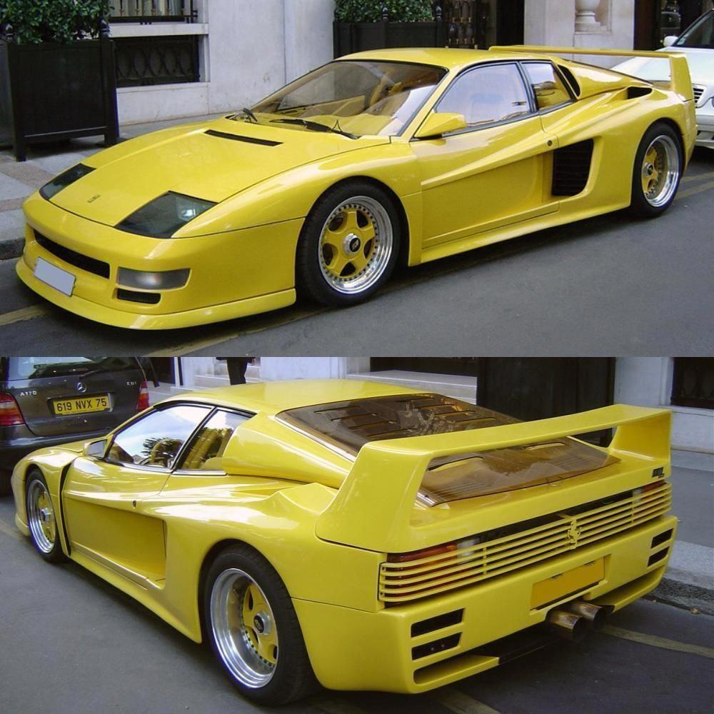 1991 Koenig Ferrari Testarossa Ferrariclassiccars Ferrari Testarossa Ferrari Car Ferrari 348