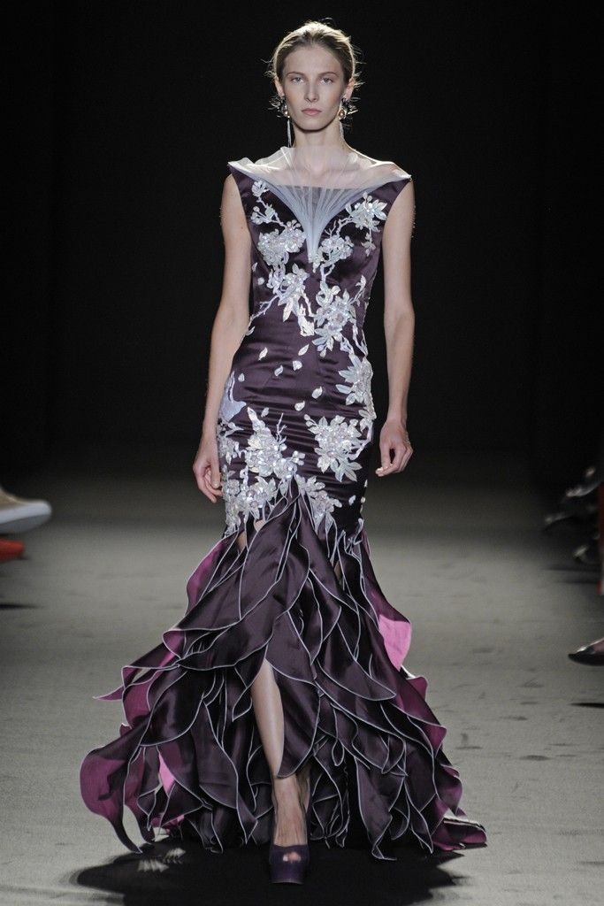 Laurence Xu Fall Couture 2013 - v