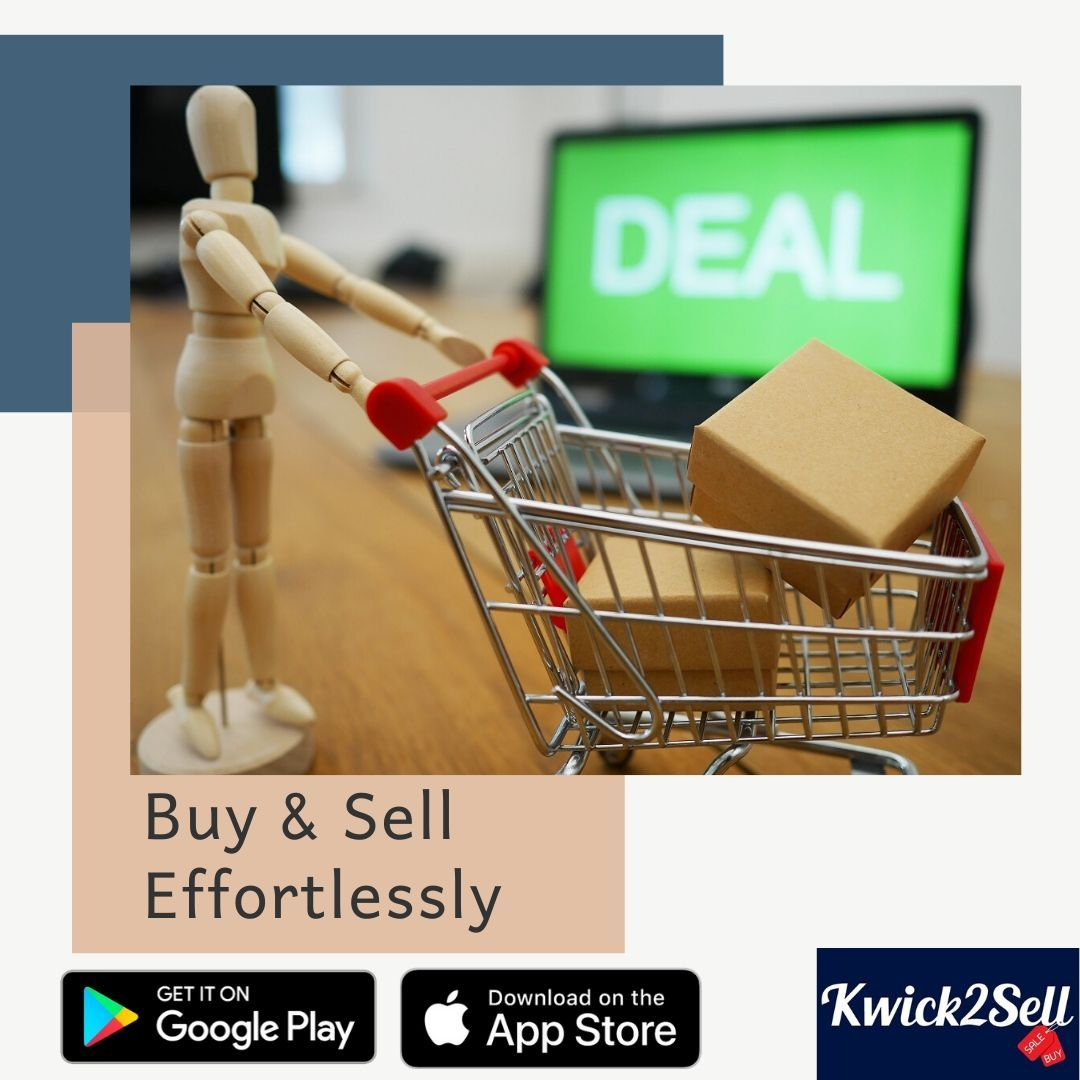 Download the app from Playstore and Appstore both. sell