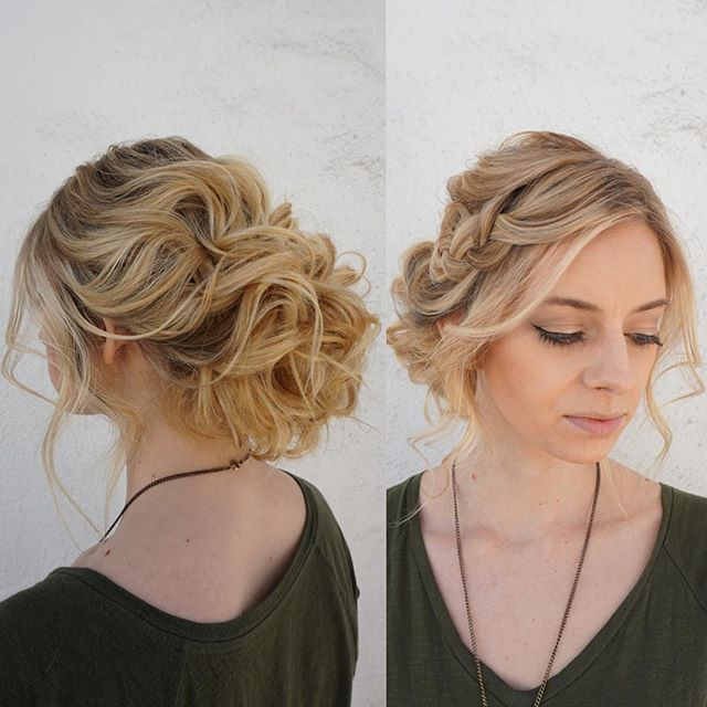 Hairstyle For Wedding Front View: Thought I'd Post The Front View And Another Angle Of The
