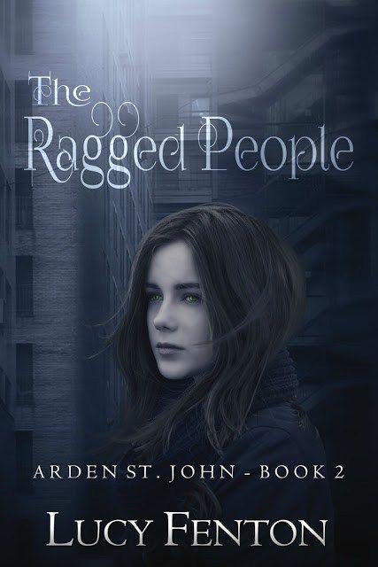 The Ragged People by Lucy Fenton     win black pearl earrings
