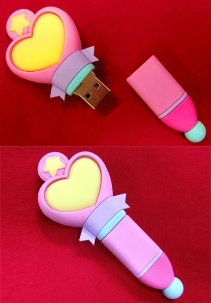 Memoria USB que es el cetro de Sailor Moon