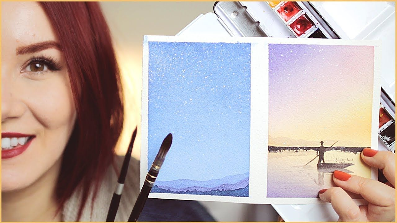 How Where To Start With Watercolor Painting For Beginners