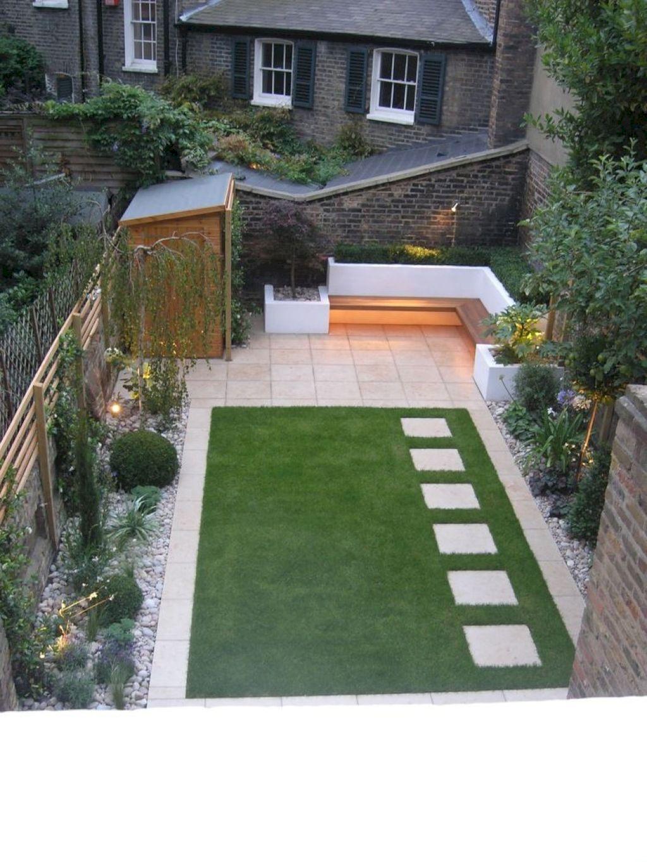 65 Fresh Small Backyard Landscaping Ideas | Back garden ... on Tiny Back Garden Ideas id=33178