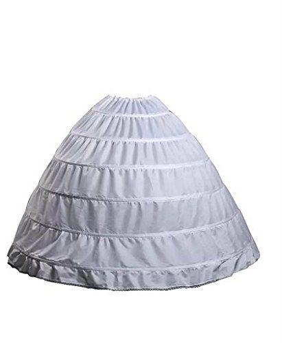 Women/'s A-line 4-Hoop 5 Layer Petticoat Underskirt Slips Bridal Accessories