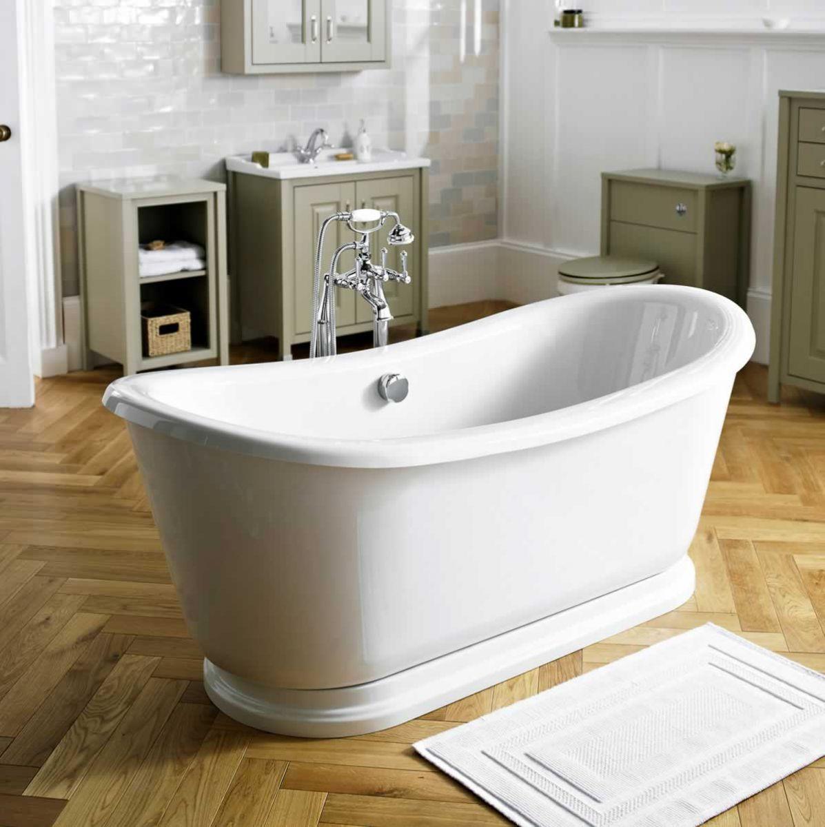 The Old London Greenwich Freestanding Slipper Bath, from ukBathrooms ...