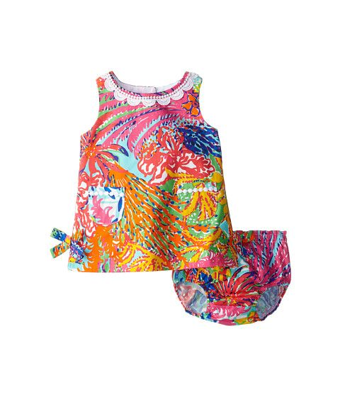 c9cc833cd8337 Lilly Pulitzer Kids Baby Lilly Shift (Infant) Multi Fishing For ...