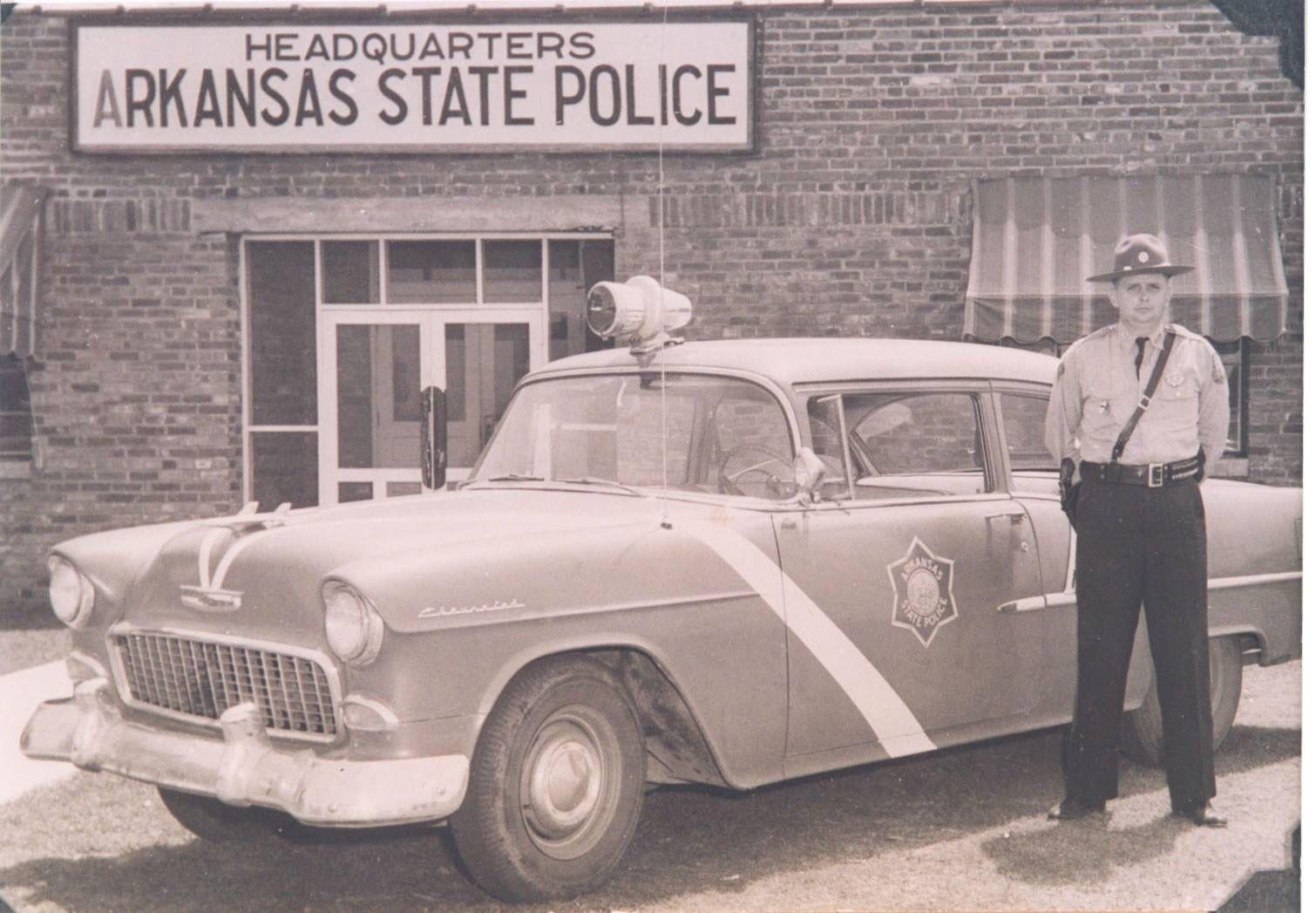 Jonesboro Arkansas State Police In The 1950 S State Police