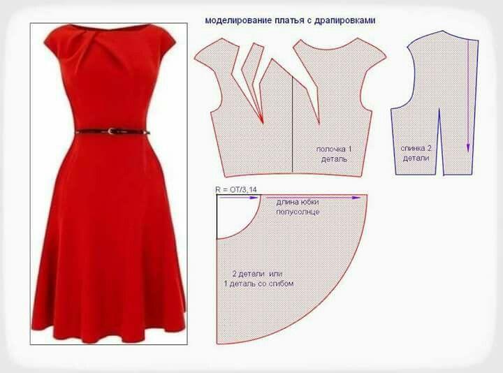 Pin de Ariadna Herrerías en corte y confección | Pinterest | Costura ...