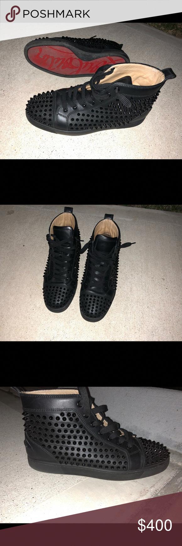 c12310e01817a Men's Christian Louboutin Red Bottoms Size 7.5 in men's Christian Louboutin Shoes  Sneakers #ChristianLouboutin