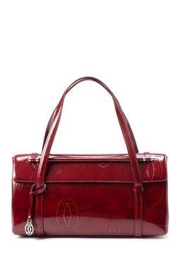 4c54c7935 Vintage Cartier Leather Happy Birthday Handbag | Wearable Art ...