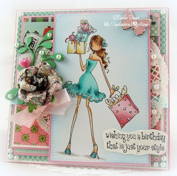 Stylish Birthday by cailin - Cards and Paper Crafts at Splitcoaststampers