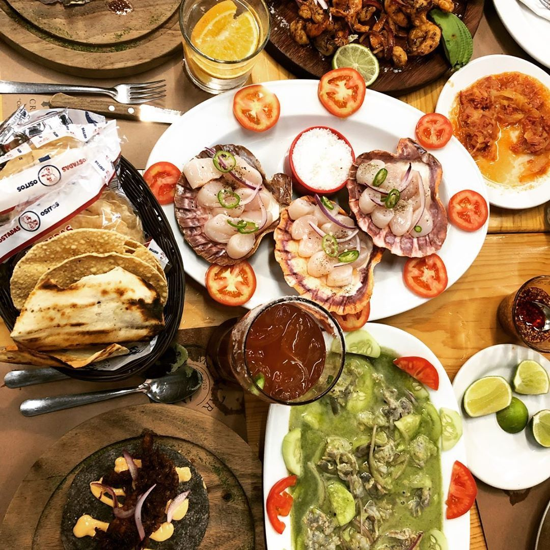 One of my favorite seafood places so far! When in Guadalajara, campomargdl is a must stop make sure to try tacos de jaiba, aguachile, callo de hacha amp; camarones zarandeados