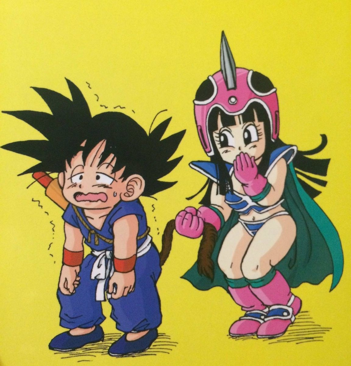 Milk ball pictures of the dragon ball model naked