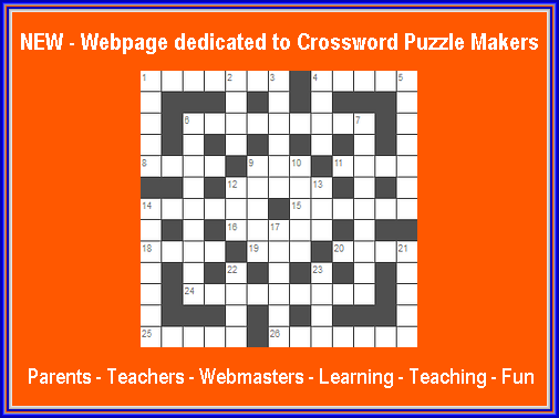New Jan 22 2018 Crossword Puzzle Makers I Have Added An All New