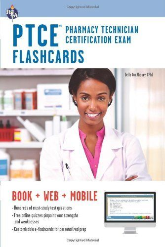Pharmacy Technician Certification Exam Flashcard Book with Online ...