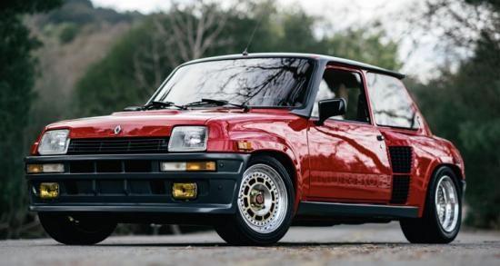 Deze Renault R5 Turbo 2 Evolution kan jij binnenkort rijden