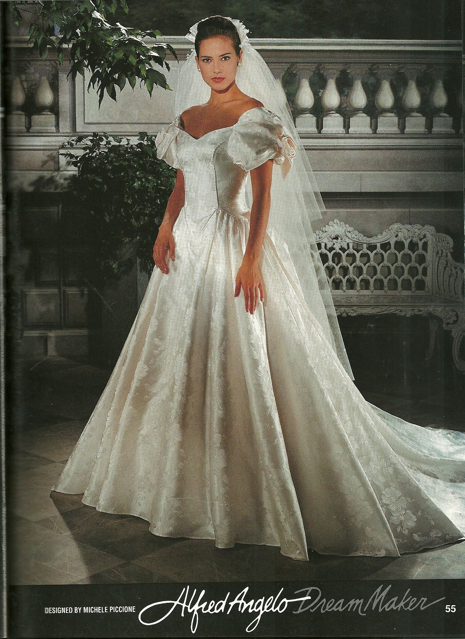 Vintage wedding dress designers