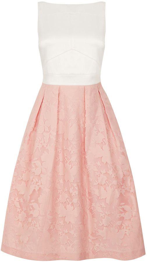 Organza Midi Dress Shopstyle Collective Fashion Me A