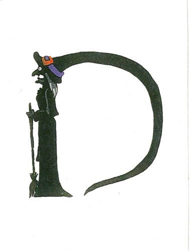 HALLOWEEN ALPHABET LETTER D RYTA | Halloween ~ Very Contemporary ...