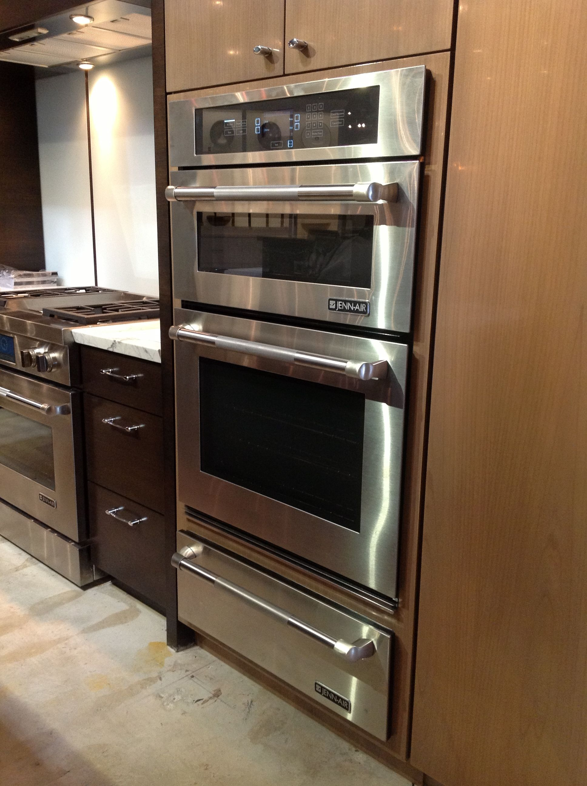 Wall Oven And Microwave Combo White Ice Or Stainless Kitchen