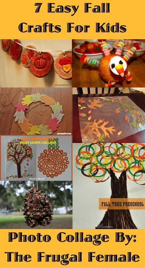 7 Easy Fall Crafts For Kids College Students You Mean 3