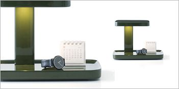 The Piani Table Lamp By Flos Provides Direct Lighting On The Desk