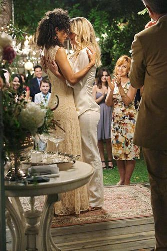 The Fosters ABC Family | Season 1, Episode 10 I Do | -- I loved Lena's dress in this episode... and, of course, I cried... ;) lol