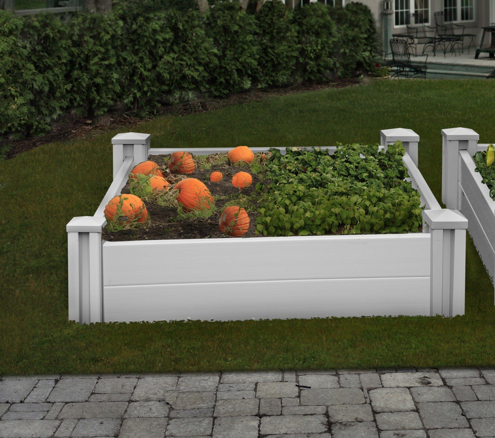 Sutton Rectangle Raised Garden Bed | Wayfair